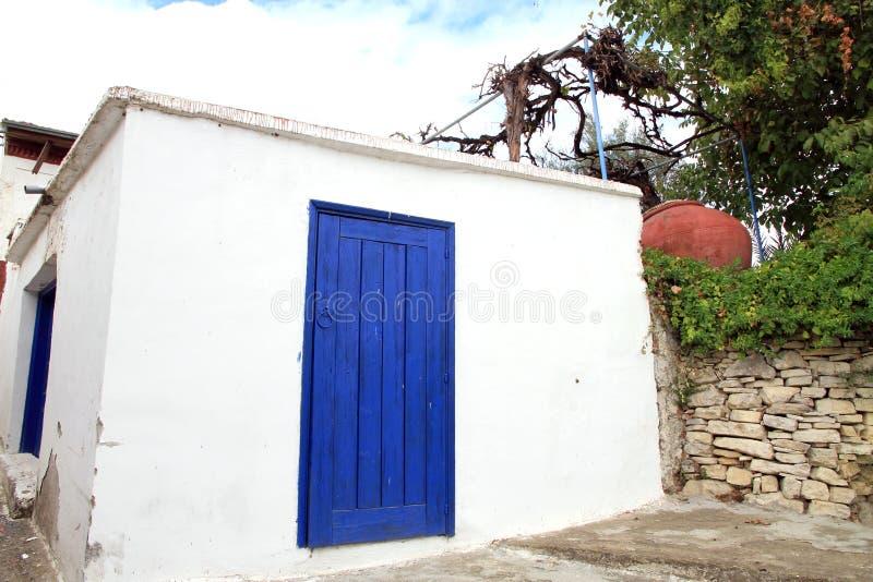 Omodos в Troodos Кипре стоковая фотография