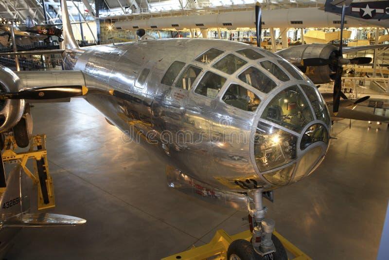 Omosessuale del Boeing B-29 Superfortress Enola fotografie stock libere da diritti