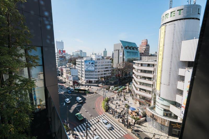 Omotesandodistrict, Tokyo - Japan stock afbeelding