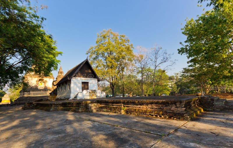 Område för buddistisk tempel fotografering för bildbyråer