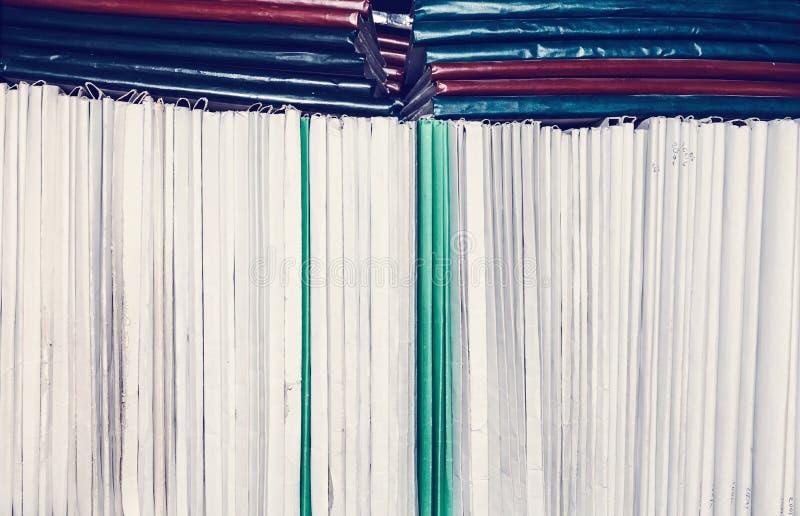 Omslag voor documenten royalty-vrije stock afbeeldingen