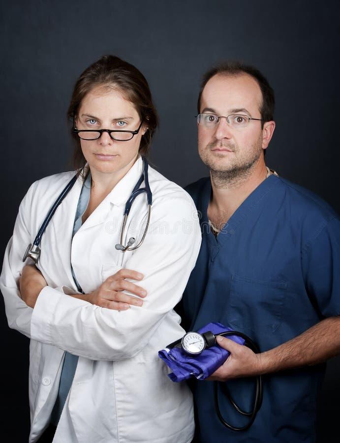 omsorgshälsoprofessionell arkivbild