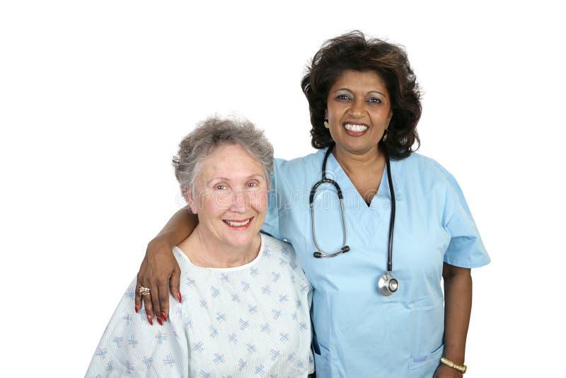 omsorgssjukvård royaltyfri foto