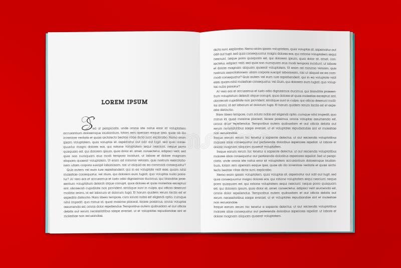Omsvängningen av katalogen i formatet A4 royaltyfri fotografi