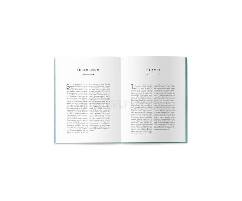 Omsvängningen av katalogen i formatet A4 royaltyfria foton