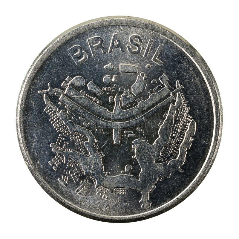 omvänt cruzeiromynt 1983 för 50 brasilian arkivbilder