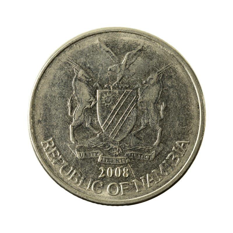 50 omvänt namibian centmynt 2008 arkivfoton