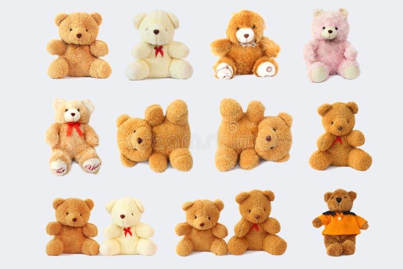 Omvat leuke en mooie teddybeer stock afbeeldingen