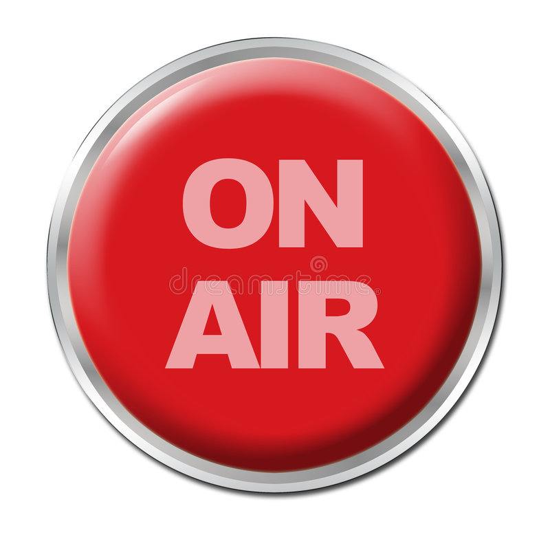 Free On Air Button Stock Image - 5285161