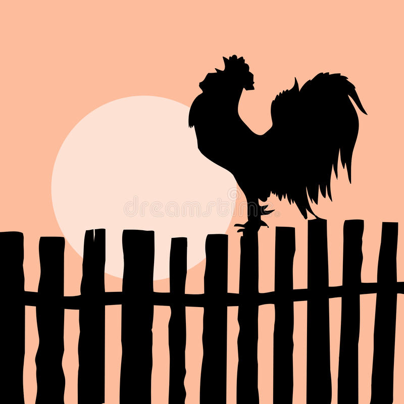Free On Old Fence Stock Photography - 16291532
