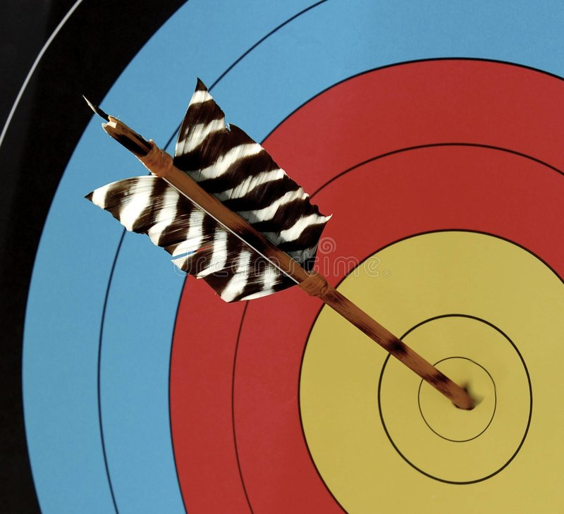 Free On Target Royalty Free Stock Photography - 1534567