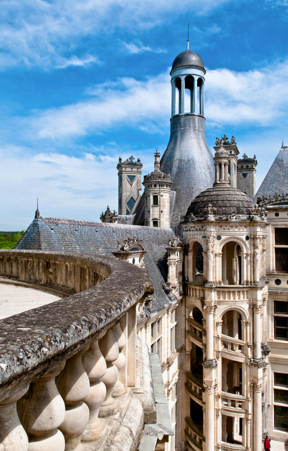 Free On The Castle Roof Royalty Free Stock Photography - 14656997