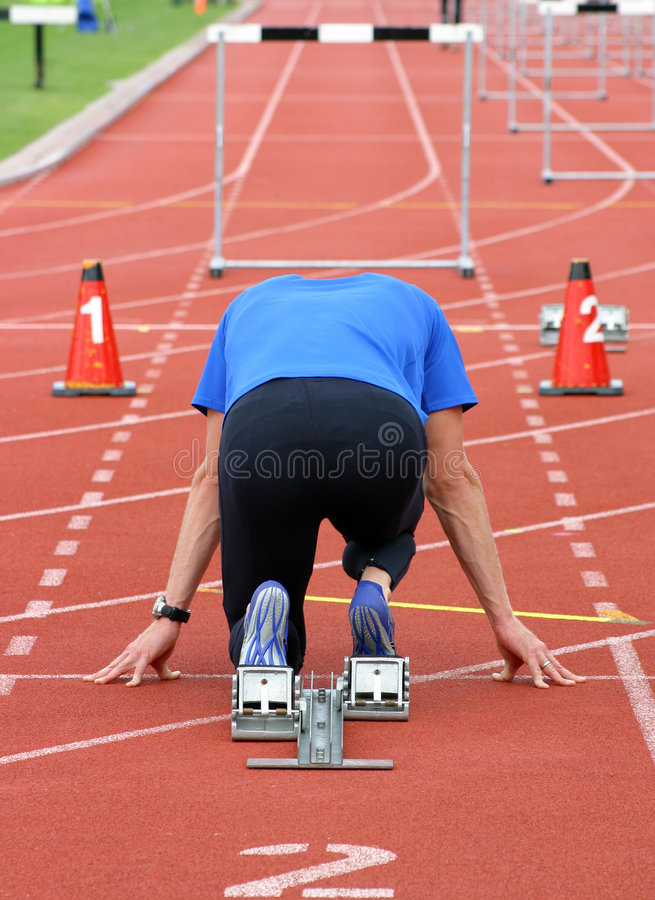 Free On Your Marks Royalty Free Stock Photos - 699468
