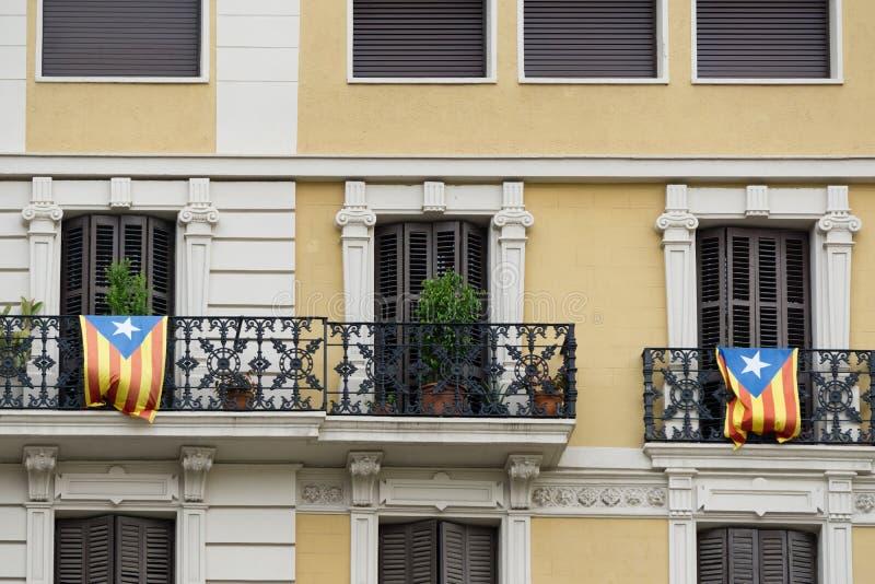 Onafhankelijkheidsvlaggen royalty-vrije stock fotografie