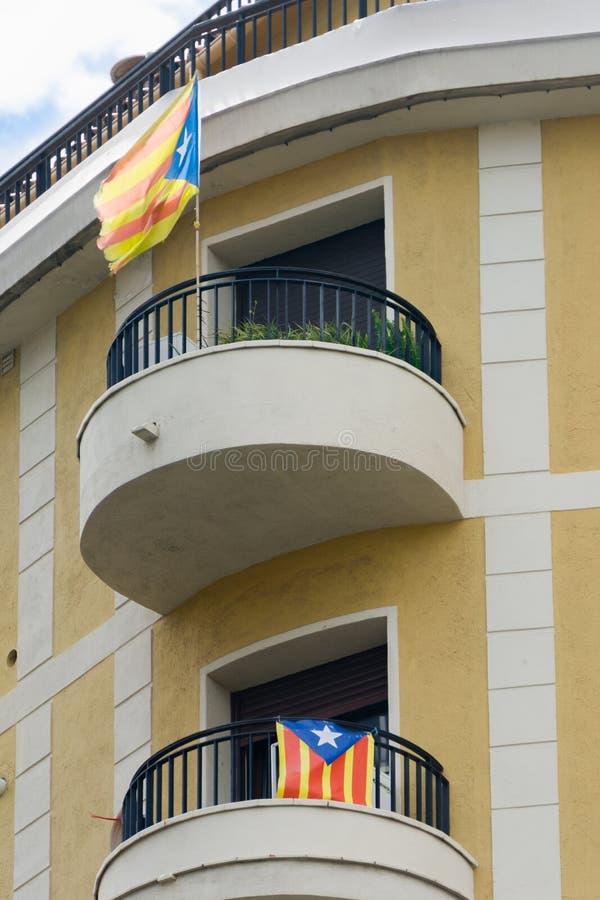 Onafhankelijkheidsvlaggen stock fotografie