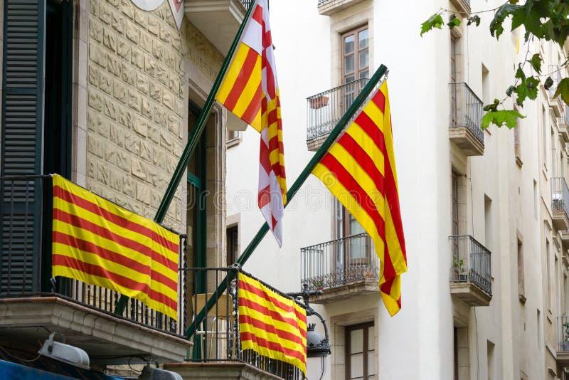 Onafhankelijkheidsvlaggen stock foto's