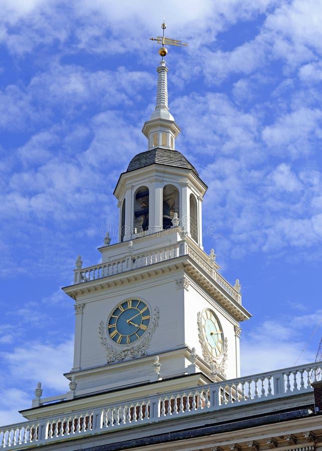Onafhankelijkheidszaal, Philadelphia, Commonwealth van Pennsylvania stock foto's
