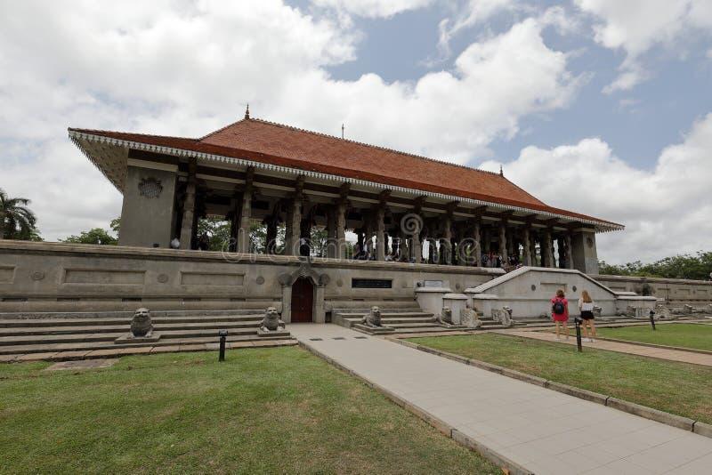 Onafhankelijkheidszaal van Colombo in Sri Lanka stock foto's
