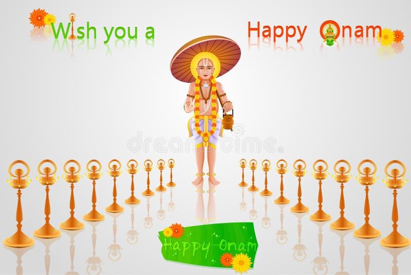 Download Onam Greetings stock vector. Illustration of cultural - 32933172