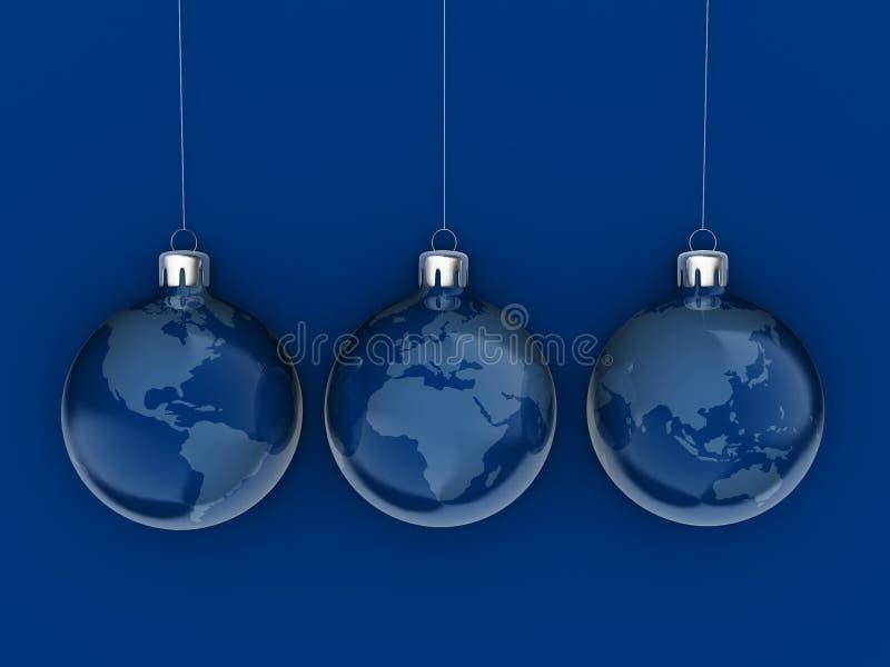 Onament 8 de Noël illustration libre de droits