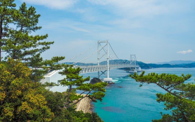 Onaruto桥梁,日本 免版税图库摄影