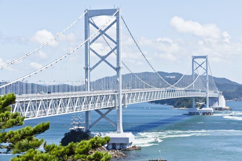 Onaruto Brücke lizenzfreie stockfotografie