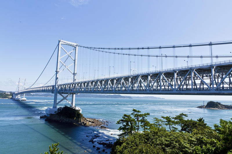 Onaruto Brücke lizenzfreie stockfotos