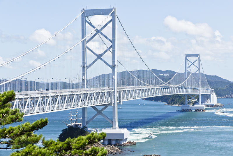 Onaruto Bridge royalty free stock photography