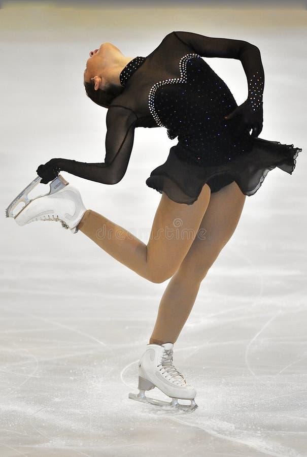 Onbekende schaatser royalty-vrije stock foto