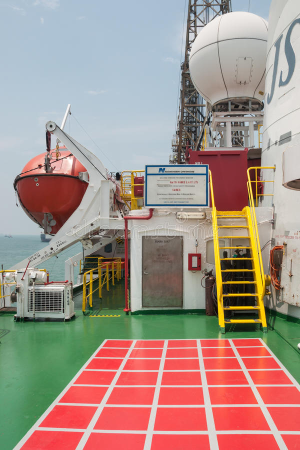 Onboard the Drill Ship