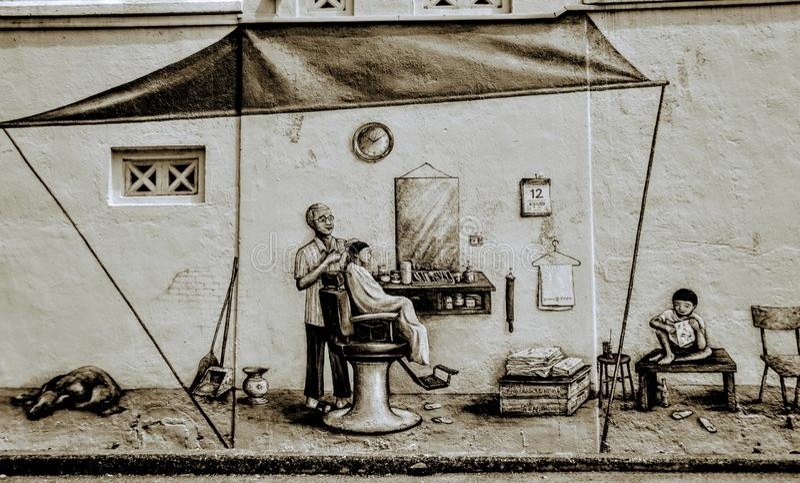 Oncle Barber photos libres de droits