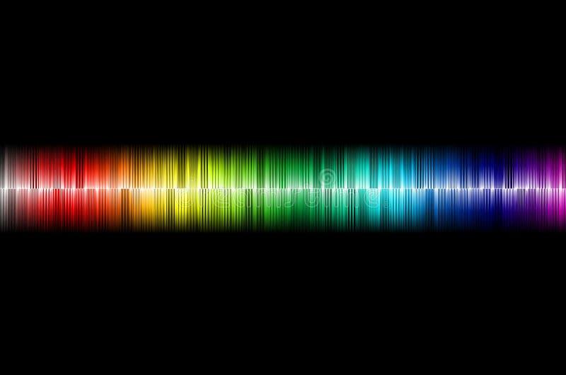 Onda acústica imagen de archivo libre de regalías