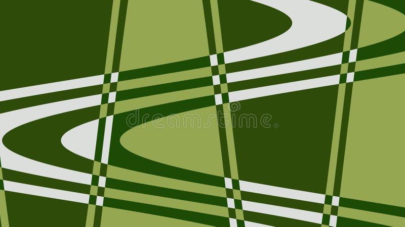 Onda da foto de cores verdes, brancas! Original, excepcional, extraordinário, proeminente, surpreendendo, fundo proeminente! ilustração stock