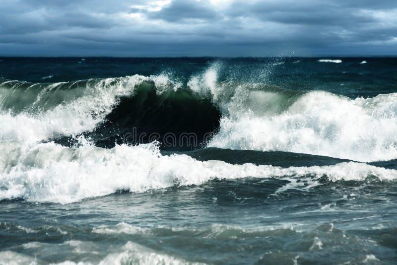 Onda de la tormenta foto de archivo libre de regalías