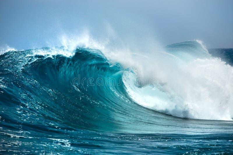 Onda de océano foto de archivo