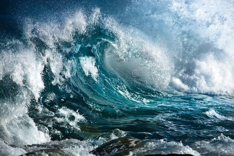 Onda de océano imagenes de archivo