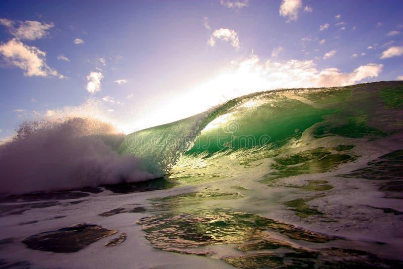 Onda de océano 6 imágenes de archivo libres de regalías