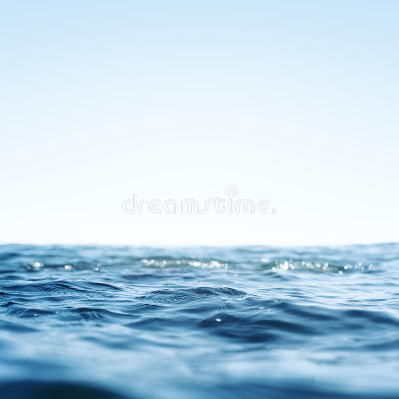 Onda de oceano do mar fotografia de stock