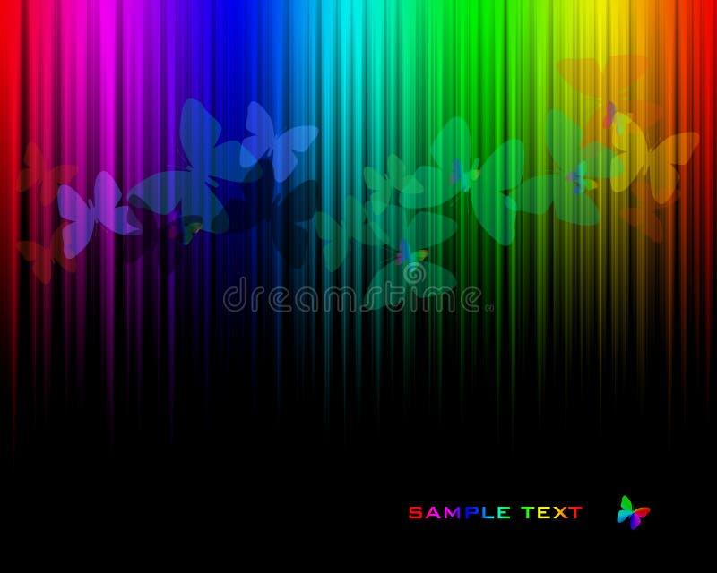 Onda del color stock de ilustración