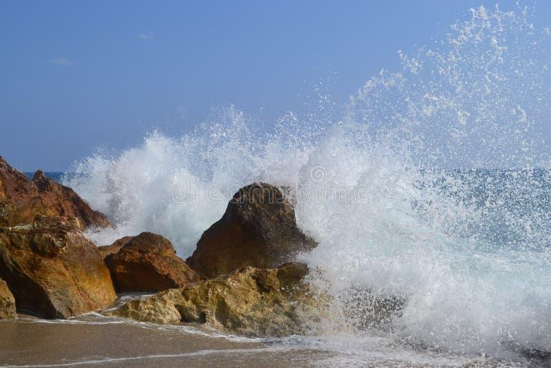 Onda del mar foto de archivo