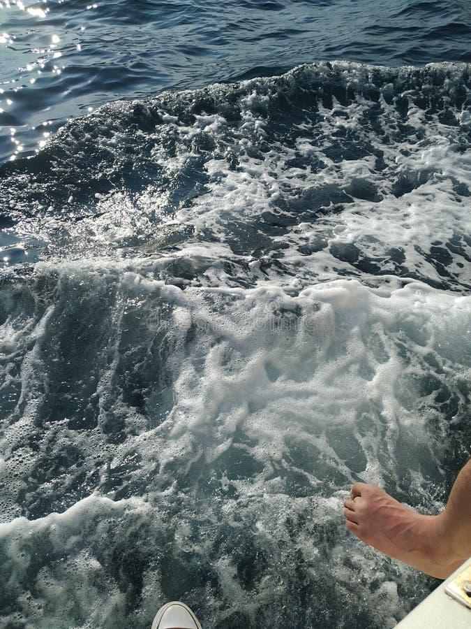 Onda del mar imagen de archivo libre de regalías