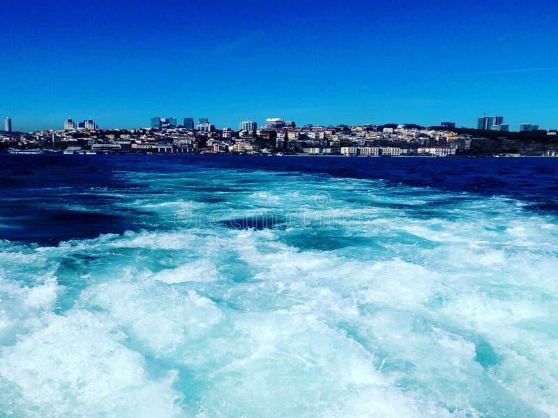Onda del mare in tacchino fotografie stock libere da diritti