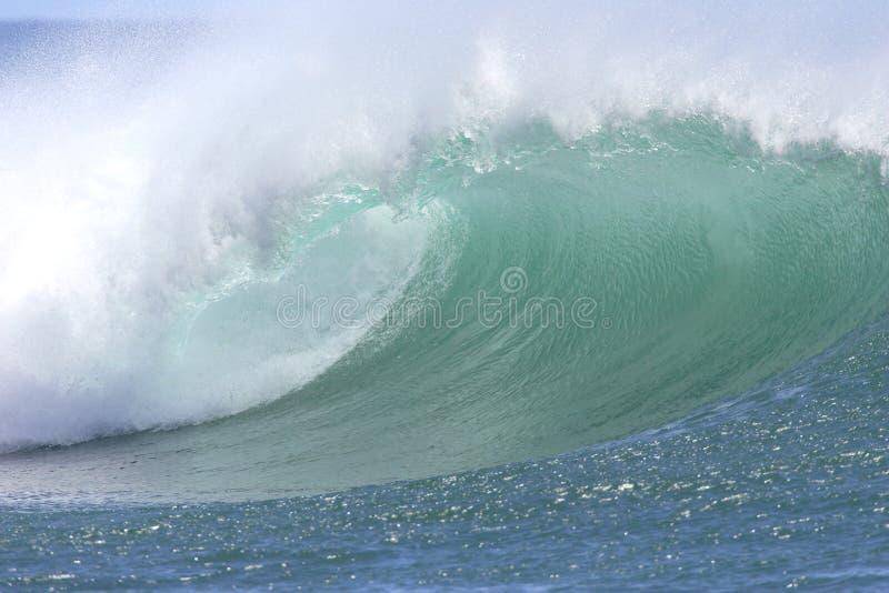 Onda del sud hawaiana del puntello fotografie stock