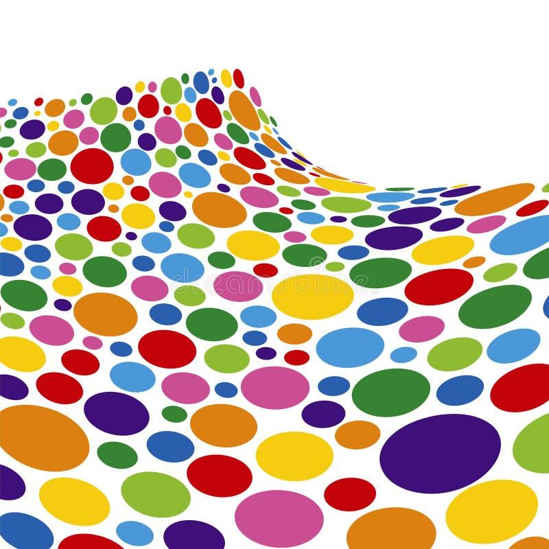Download Onda Della Spugna Del Rainbow Illustrazione Vettoriale - Illustrazione di grafico, punti: 7301674