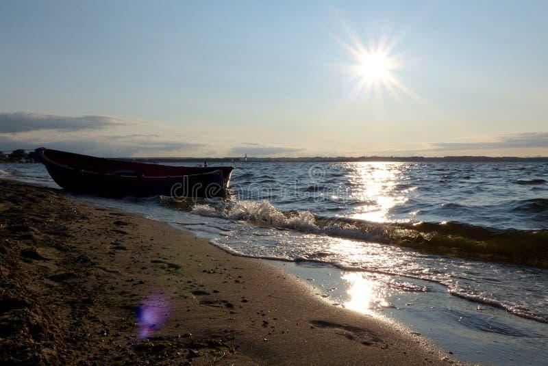 Onda determinada del sol de Polonia - de Rewa fotos de archivo