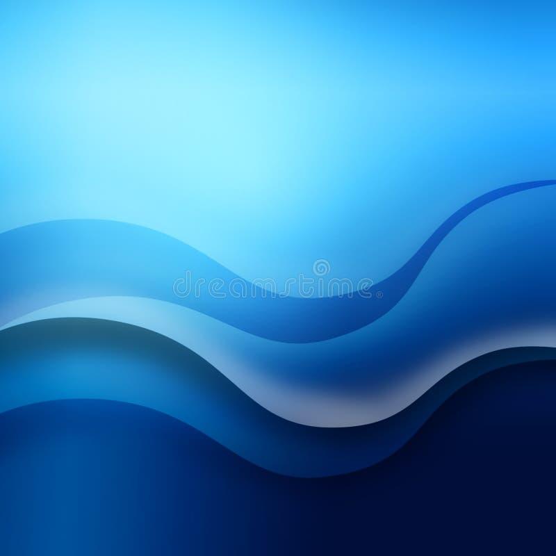 Onda di oceano illustrazione vettoriale