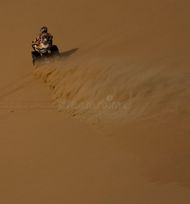Onda di sabbia fotografia stock