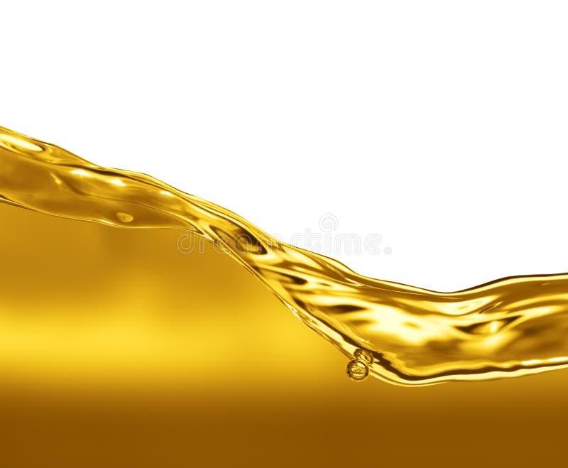 Onda do óleo fotografia de stock