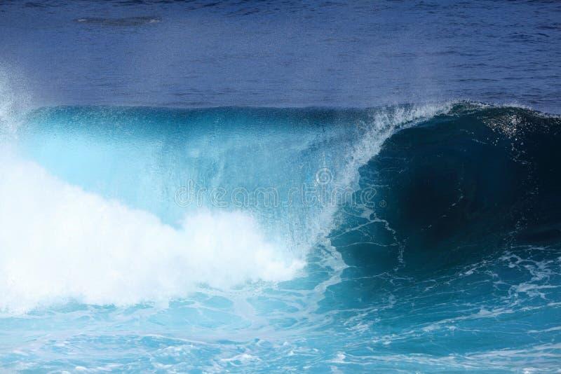 Onda do mar do rolamento fotos de stock