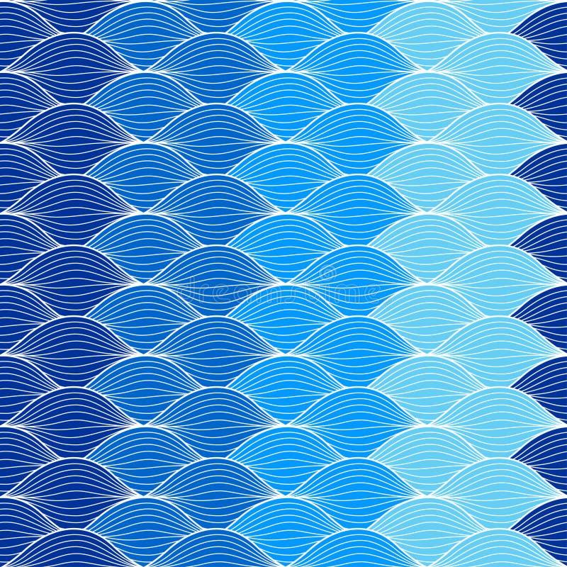 Onda geométrica abstracta del modelo imagenes de archivo